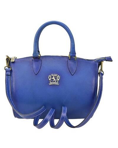 Pratesi Pontassieve leather handbag - B332/28 Bruce Orange