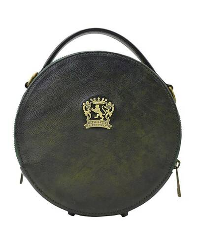 Pratesi Troghi shoulder bag - B188 Bruce Dark Green