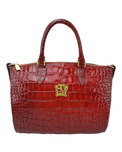 Pratesi Pontassieve leather handbag - K332/28 King Cherry
