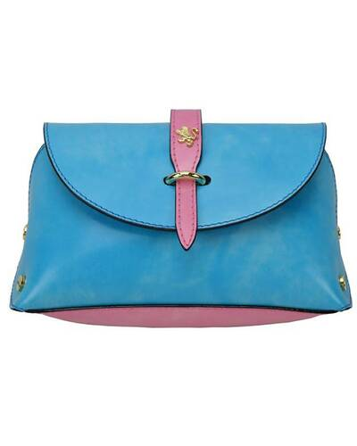 Pratesi Buonconvento lady bag - R331/G Radica Light Blue