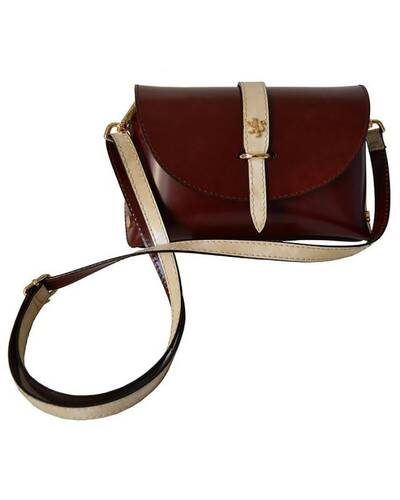 Pratesi Buonconvento lady bag - R331/G Radica Brown