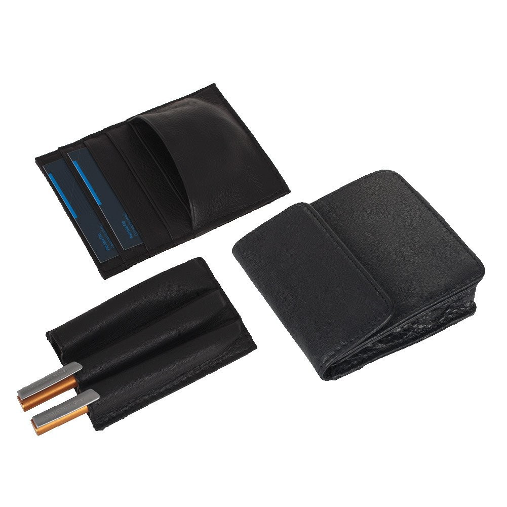 Piquadro Modus Cartella rigida a due soffietti con doppia tasca porta PC, Nero - CA1152MO/N