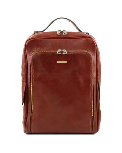 Tuscany Leather Bangkok Leather laptop backpack Brown - TL141793/1