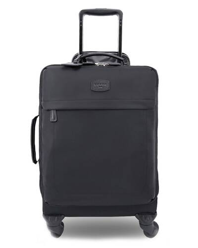 Fedon 1919 - Sofia - Soft technical fabric luggage, Black - WT1910001/N