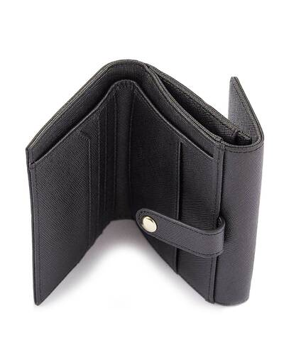 Fedon 1919 - Emily - Women's wallet with flap, Black - WS1910080/N