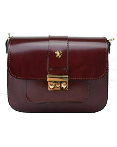 Pratesi Dicomano leather shoulder bag - R398 Radica Chianti