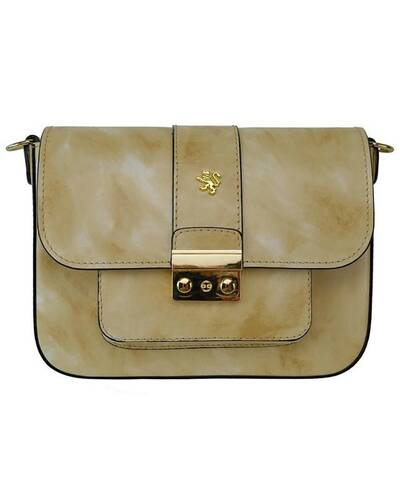 Pratesi Dicomano leather shoulder bag - R398 Radica Cream