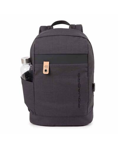 Piquadro Laptop backpack, Black - CA614BL/N
