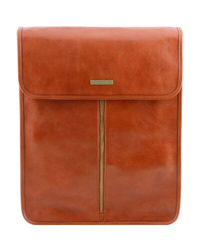 Tuscany Leather - Exclusive leather shirt case Honey - TL141307/3