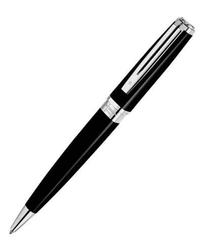 Waterman Exception Slim Black Laquer ST Penna a sfera - W0637040