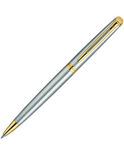Waterman New Hemisphere Stainless Steel GT Penna a sfera - W10651600