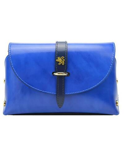 Pratesi Buonconvento lady bag - R331/G Radica Electric Blue