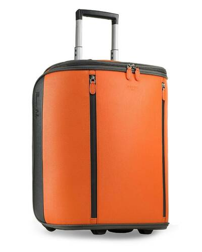 "Fedon 1919 - Marco Polo - Cabin trolley with 13"" laptop compartment, Orange - MT1910110/AR"