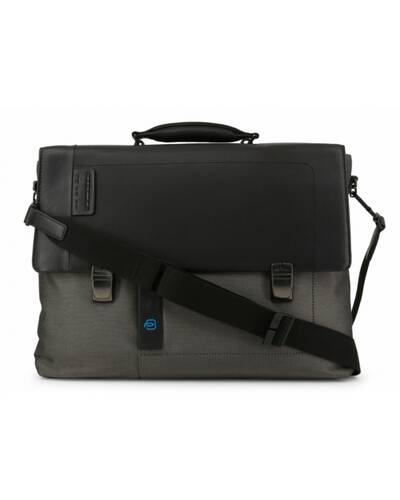 Piquadro P16 Laptop briefcase with two fasteners, Classy - CA4130P16/CX
