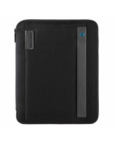 Piquadro P16 Slim notepad holder, A4 format, with pen loop, Black - PB2830P16/N