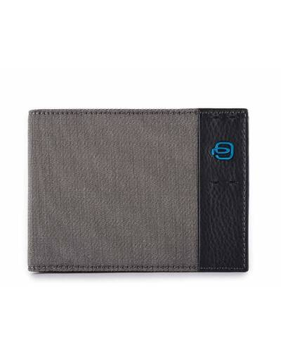 Piquadro P16 Men's wallet with coin pouch, Classy - PU257P16/CX