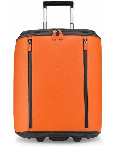 """Fedon 1919 - Marco Polo - Cabin trolley with 13"""" laptop compartment, Orange - MT1910110/AR"""
