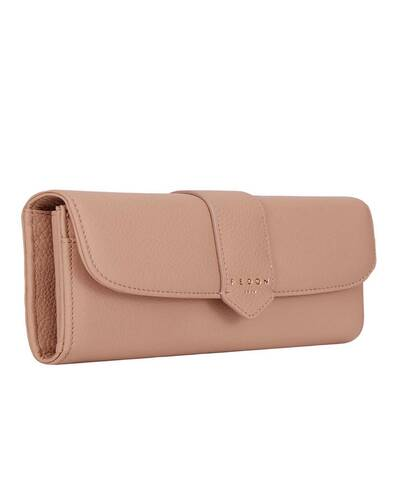 Fedon 1919 - Georgia - Women's wallet in leather, Camel - WS1930001/CAM