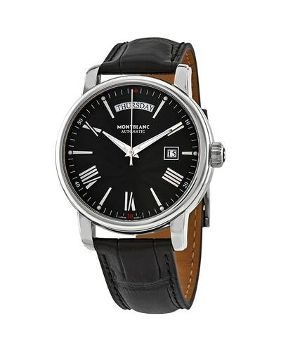 Montblanc 4810 Day-Date Men's Automatic Watch, Black - MB115936