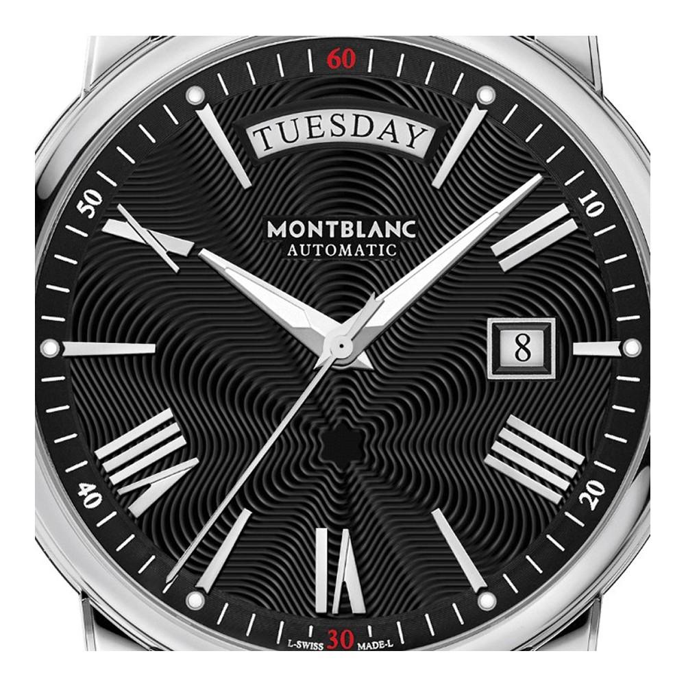 Montblanc 4810 Day-Date Orologio da uomo, Nero - MB115936