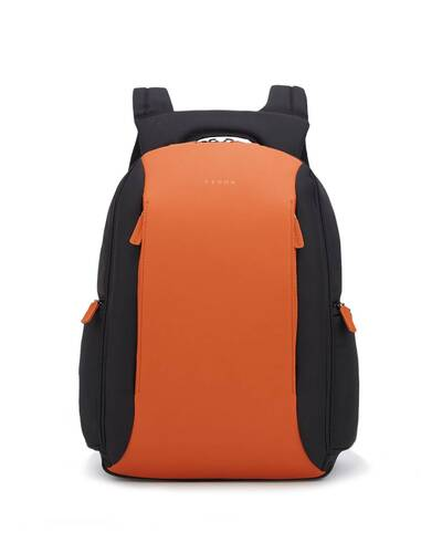 Fedon 1919 - Tech - Semi-rigid 13'' laptop backpack, Orange - MZ1930007/AR