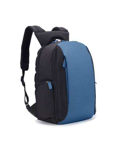 Fedon 1919 - Tech - Semi-rigid 13'' laptop backpack, Blue - MZ1930007/BLU