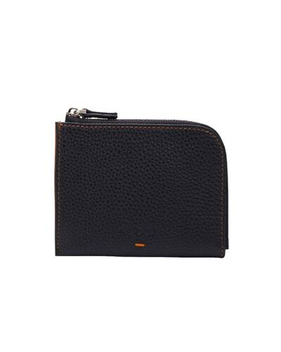 Fedon 1919 - Nelson - Compact men's wallet with 6 card slots, Black/Brown - MS1930002/NM