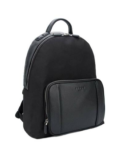 "Fedon 1919 - Dimon - Men's laptop backpack 13"", Black - MZ1930002/N"