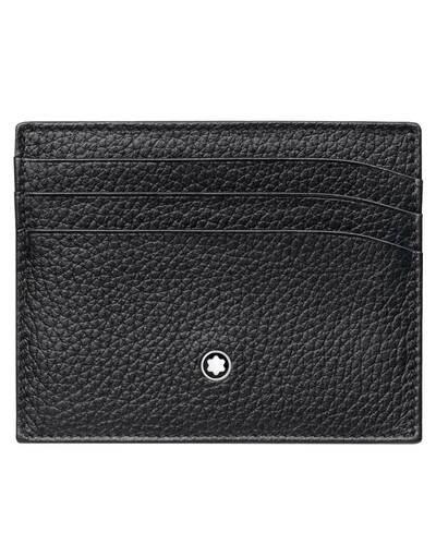 Montblanc Meisterstück Soft Grain pocket 6cc, Black - MB113309