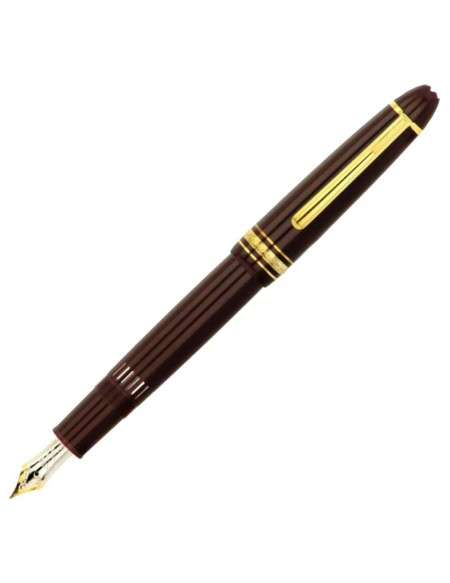 Montblanc Meisterstück Gold-Coated LeGrand Fountain Pen, Bordeaux - MB13661/BO