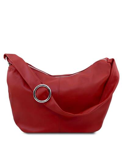 Tuscany Leather - Yvette - Borsa in pelle da donna Rosso - TL140900/4
