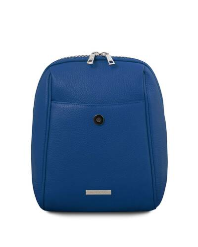 Tuscany Leather TLBag Soft Leather Backpack Blue - TL141905/77
