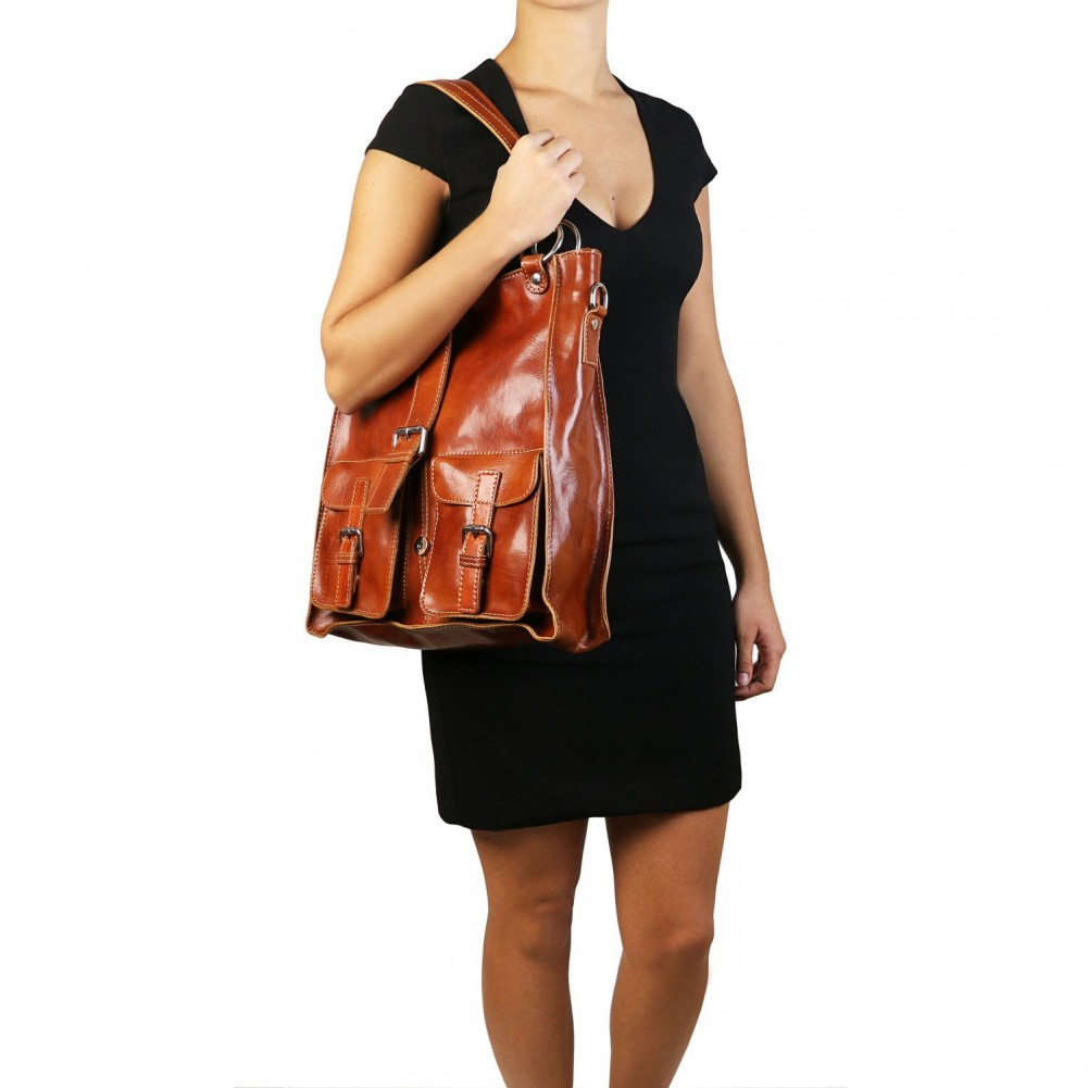 Tuscany Leather - Melissa - Borsa donna in pelle Rosso - TL140928/4