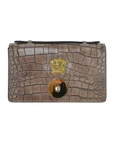 Pratesi Le Falle leather purse - K194 King Grey