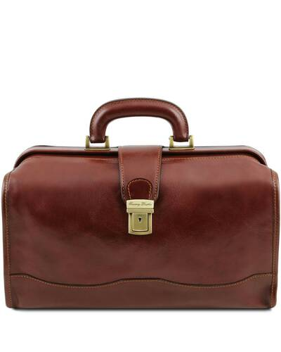 Tuscany Leather - Raffaello - Doctor leather bag Brown - TL141852/1