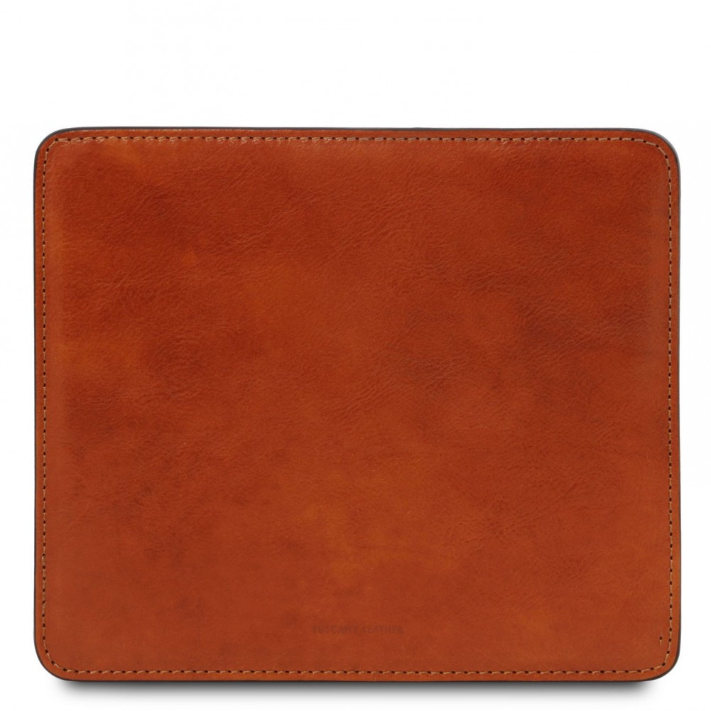 Tuscany Leather Tappetino per mouse in pelle Miele - TL141891/3