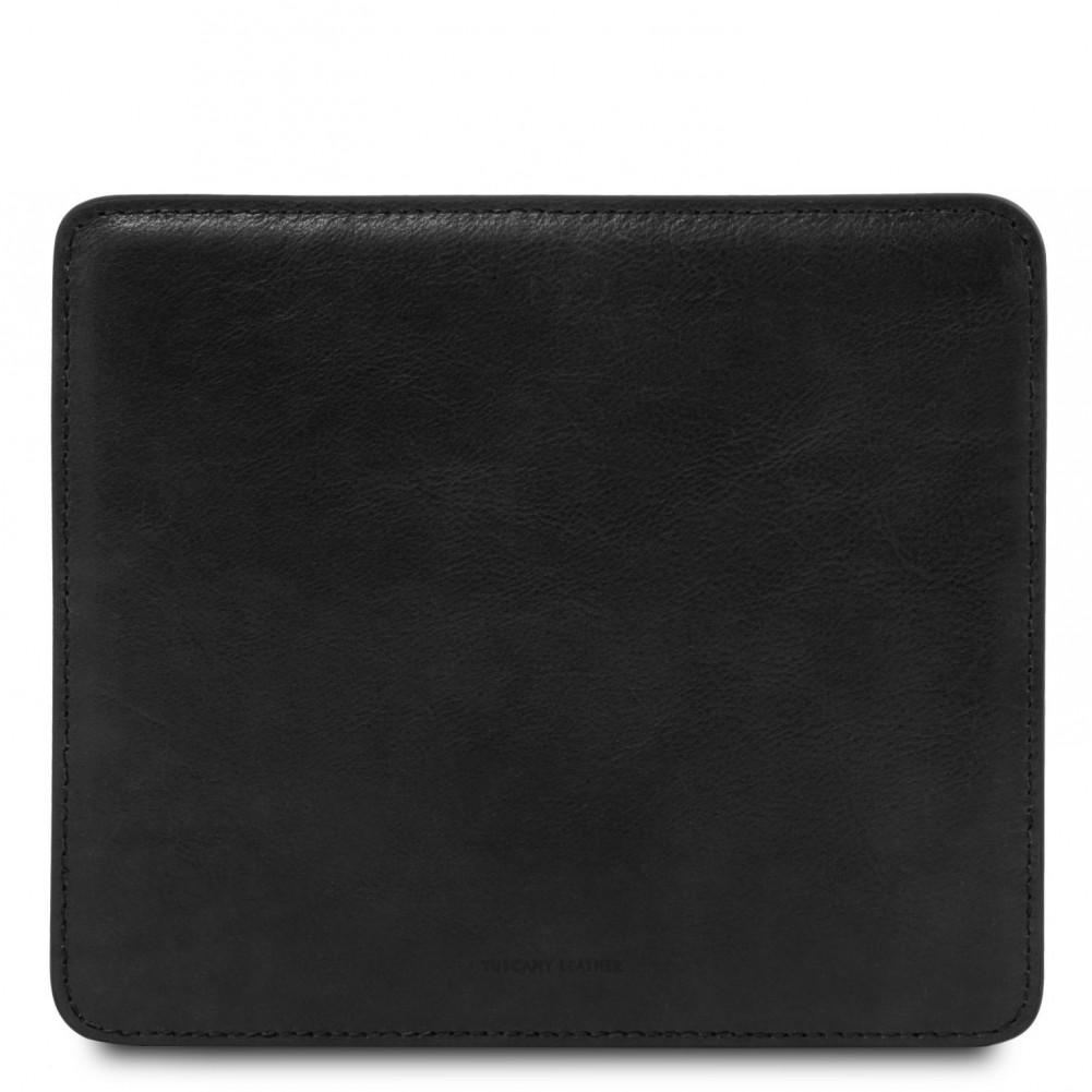 Tuscany Leather Tappetino per mouse in pelle Nero - TL141891/2