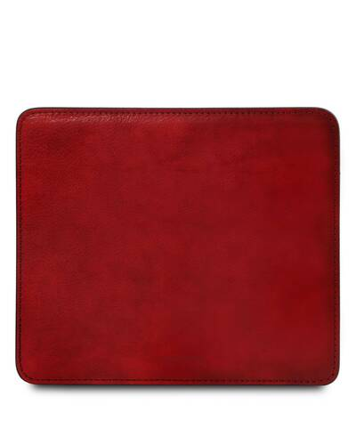 Tuscany Leather Tappetino per mouse in pelle Rosso - TL141891/4