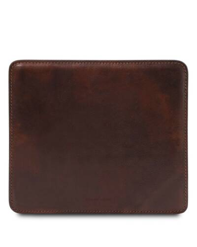Tuscany Leather Tappetino per mouse in pelle Testa di Moro - TL141891/5
