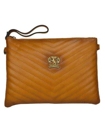 Pratesi Rufina genuine leather bag - B253/28 Bruce Cognac