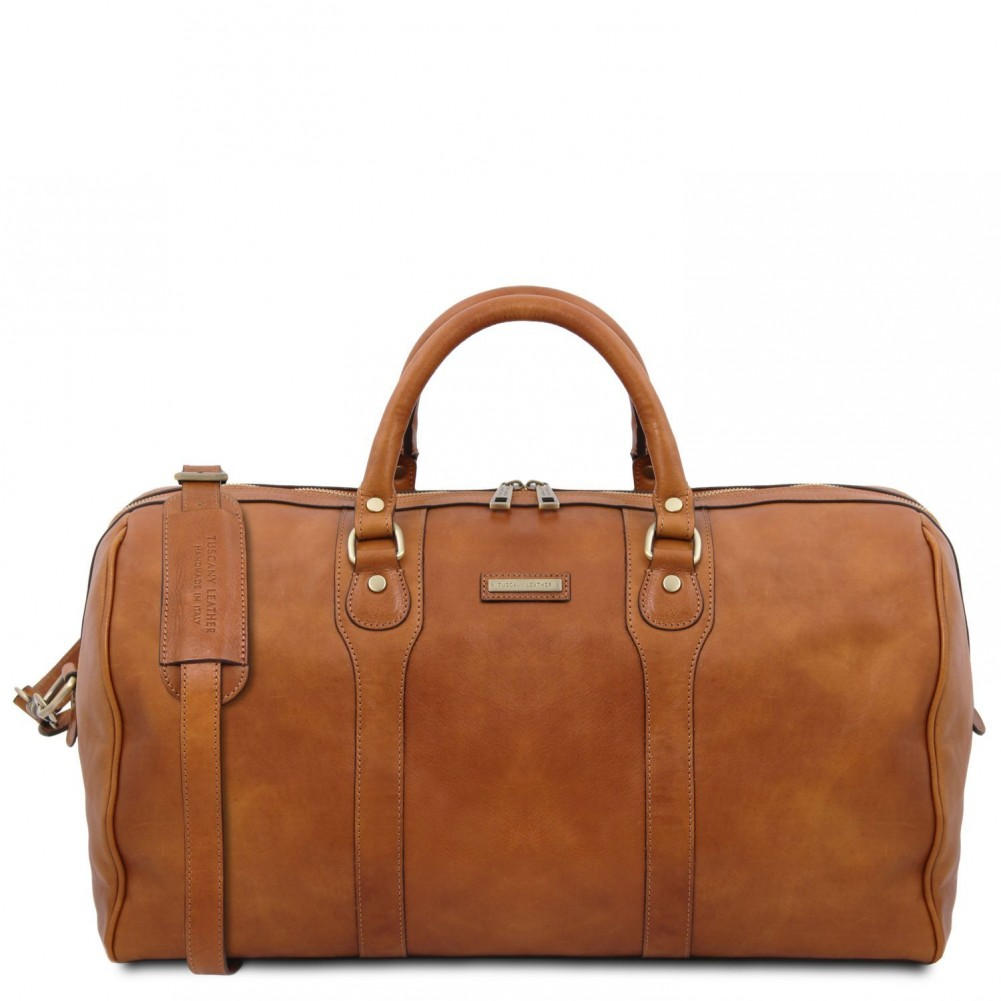 Tuscany Leather - Oslo - Borsa da viaggio in pelle Naturale - TL141913/100