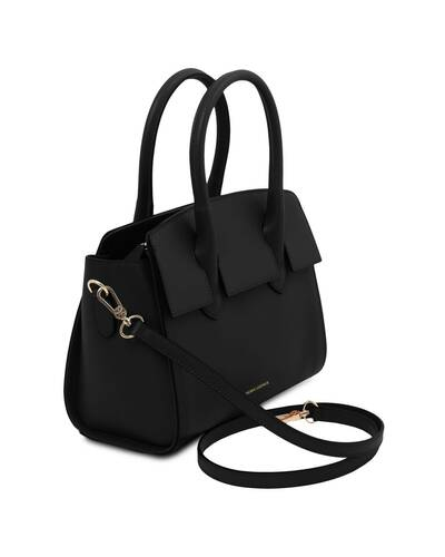 Tuscany Leather Brigid Borsa a mano in pelle Nero - TL141943/2