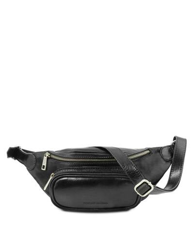 Tuscany Leather Leather fanny pack Black - TL141797/2