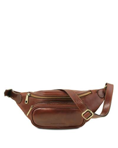 Tuscany Leather Leather fanny pack Brown - TL141797/1