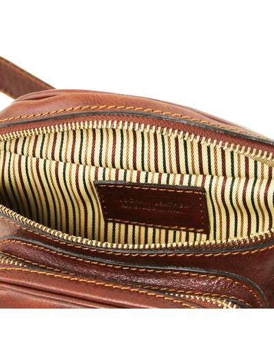 Tuscany Leather Leather fanny pack Honey - TL141797/3