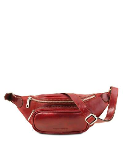 Tuscany Leather Leather fanny pack Red - TL141797/4
