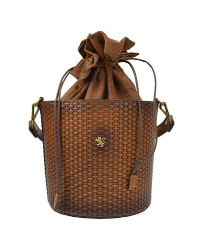 Pratesi Secchiello crossbody bag - T335 Brown