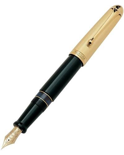Aurora penna stilografica 801 Linea 88 C con pennino dorato - 801-88C