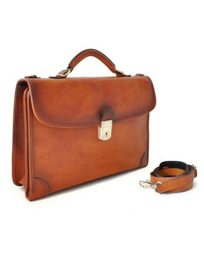 Pratesi Leccio briefcase - B113 Bruce Brown