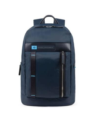 Piquadro PQ-Bios Computer backpack in regenerated nylon, Blue - CA4545BIO/BLU